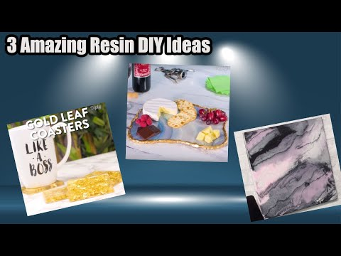 3 different Easy and simple Resin DIY videos || Resin hack