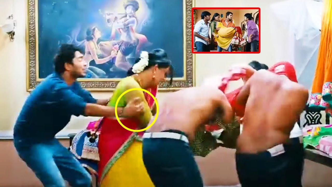 Allari Naresh & Karthika Superhit Movie Interesting Funny Scene | Theatre Movies