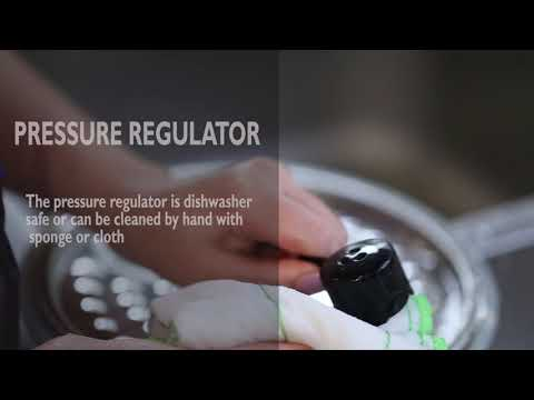 Philips Deluxe All-in-One Cooker HD2145/72 - How To Clean The Pressure Regulator