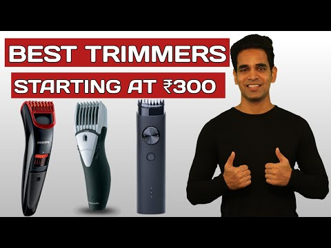 5 Best Trimmers For Men In India (Hindi) | Best Trimmers For Men 2020
