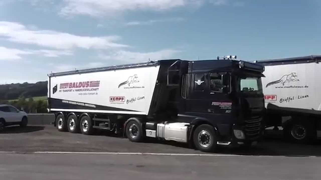 DAF XF Euro 6  460  LKW Truck in HD  YouTube