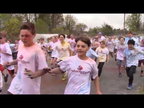 Color Run at Guntown Middle School
