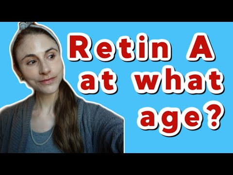 WHAT AGE DO YOU START RETIN A FOR ANTI-AGING? | DR DRAY