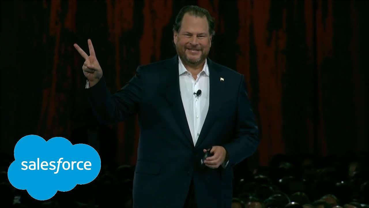 "Welcome - DF '18 Opening Keynote: ""Dreamforce: A ..."