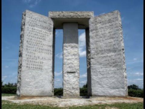 "Breaking Report: ""New World Order / Georgia Guide-stones / Agenda 21"