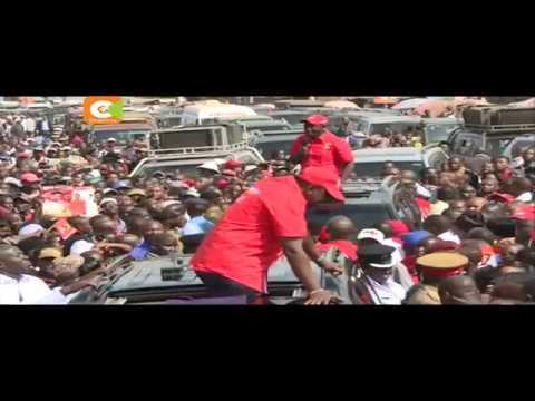 Kenyatta condemns Odinga for  linking of KDF to rigging