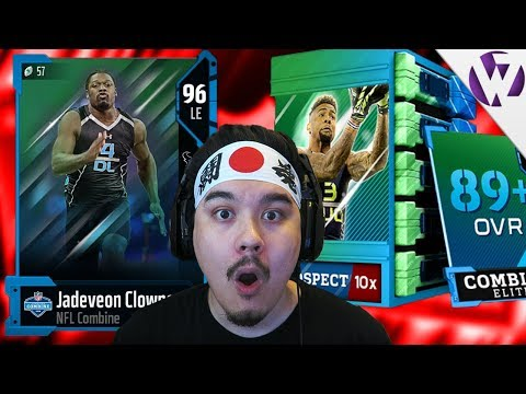 COMBINE WARRIORS & COMBINE CHAMPIONS! NFL COMBINE PACK OPENING! - Madden 18 Prospect Pack Opening