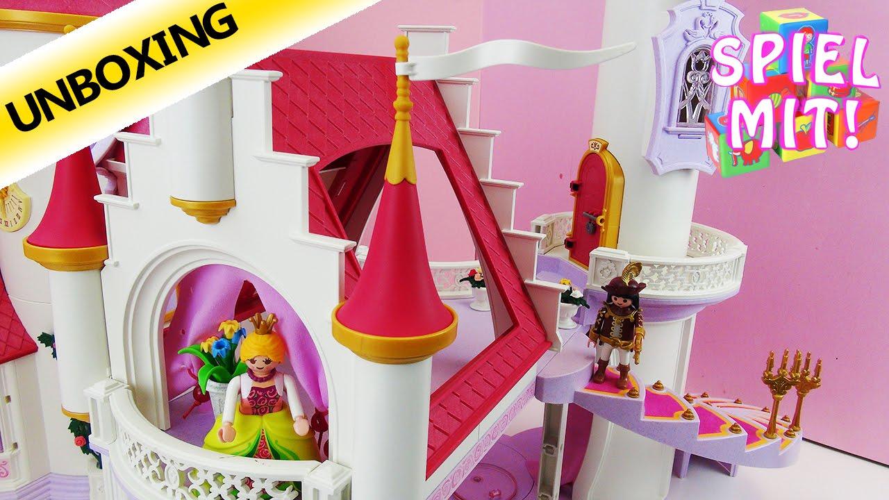 Das gr te playmobil schloss playmobil prinzessinnen for Chateau playmobil princesse 5142