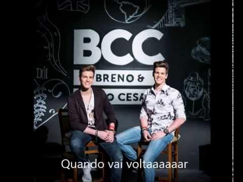 Breno e Caio Cesar- Dói - Letra