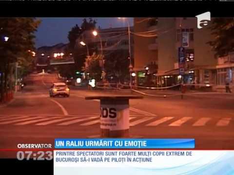 Raliul Deltei, spectacol pe străzile din Tulcea