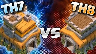 Clash of Clans - ESTRATEGIA DRAGONES Y MONTAPUERCOS CON TH7 - TH7 VS TH8 - TRES ESTRELLAS COC