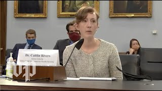 WATCH: House appropriations committee hearing on covid-19 response