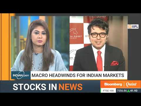Stallion Asset Founder, Amit Jeswani On Bloomberg Qunit - 24th July , 2019