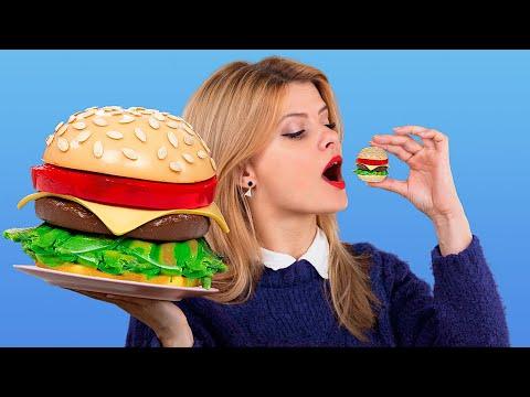 24 часа едим желейную еду! Желейный челлендж!