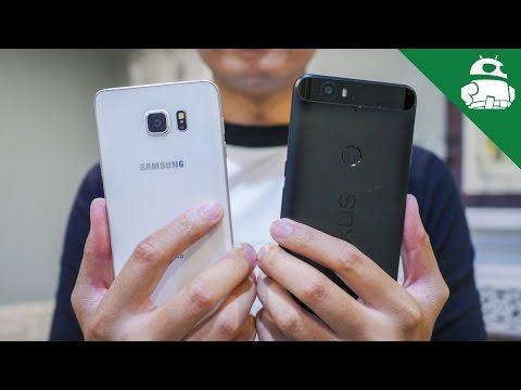 Nexus 6P vs Samsung Galaxy Note 5