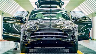 Aston Martin Dbx Factory Tour 2020 Luxury Suv Assembly Line In St Athan Wales Youtube