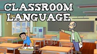 Разговорные фразы в английском языке. Школа - выражения в классе. (Classroom language)