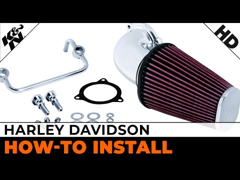 Air Intake Installation for Select 2008 to 2013 Harley Davidson