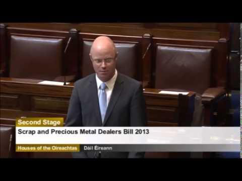 Regulation for the sale of scrap & precious metals