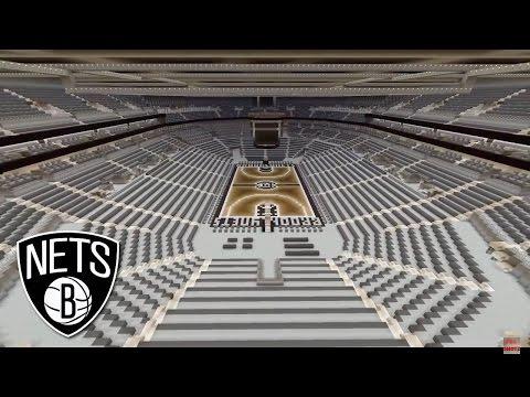 Minecraft Brooklyn Nets Arena / Barclays Center