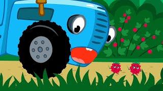 💥 ХИТЫ 💥 Едет трактор по полям, Животные, Овощи и другие песенки - Синий трактор и Красный Трактор