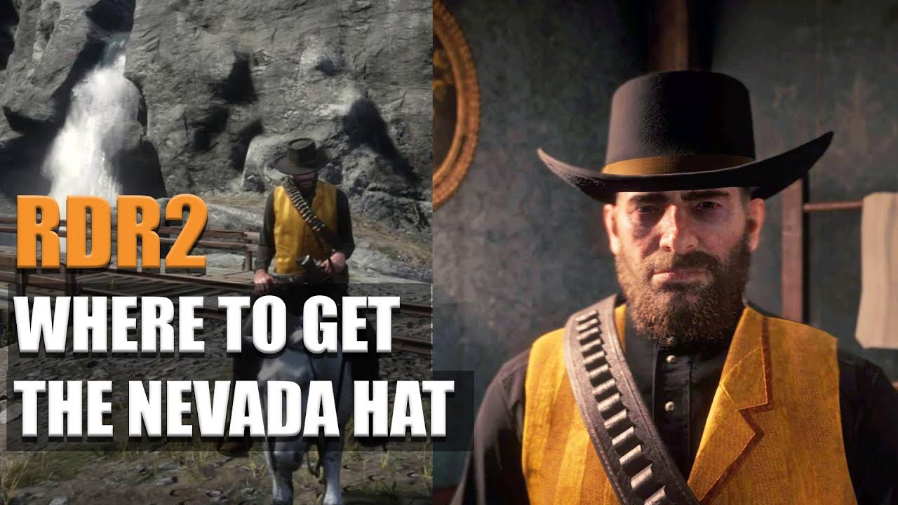RED DEAD REDEMPTION 2 - WHERE TO GET THE NEVADA HAT!!