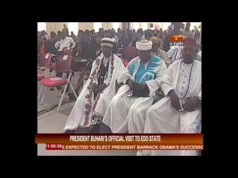 Watch: Commissioning of Edo University by the President Buhari