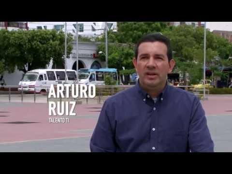 Arturo Ruiz, caso de éxito de #TalentoTI, #ViveDigitalTV