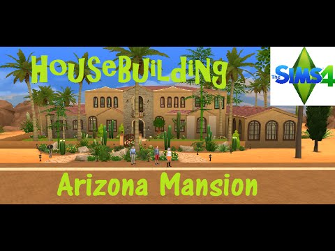 The Sims 4: House Building - Arizona Mansion