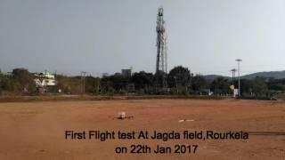 SUNDARGARH- BIBHUTI Finally Got a Success After one Year Of a Quardcopter Project BS-28117