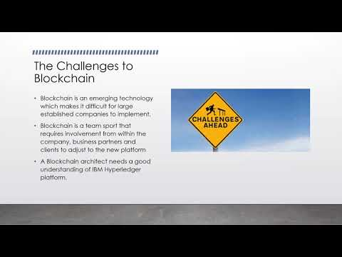 IBM Blockchain Presentation CS 656851-Intrnet&Higher Layer Pro Group 5