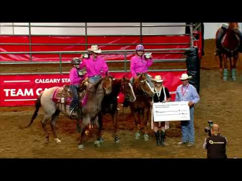 2017 Calgary Stampede 10 Class Team Cattle Penning