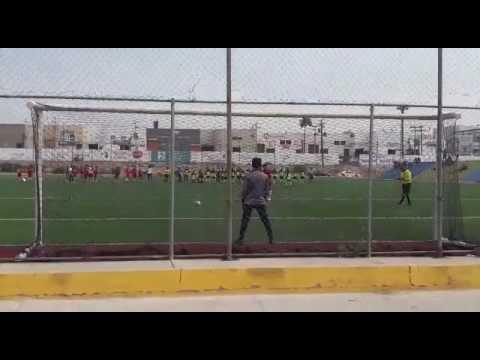 Gol penal Carlos Prats