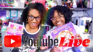 YouTube LIVE with The Froggys   Q&A   Num Noms Pizza Kit   Fan Mail