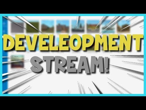 Developing That Secret Game Of Mine On Roblox Live Roblox