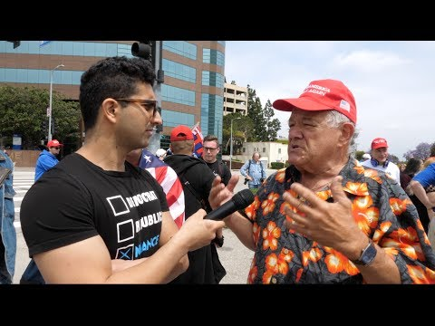 interviewing-trump-supporters-at-los-angeles-rally