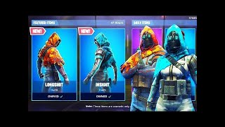 Fortnite— INF clan carry noob—new skins