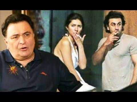Rishi Kapoor Opens Up About Ranbir Kapoor and Mahira Khan Smoking Pictures  SpotboyE