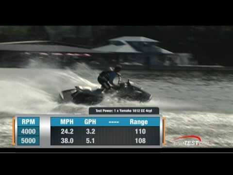 Yamaha VXS 2011 PWC Performance Test - By BoatTest com
