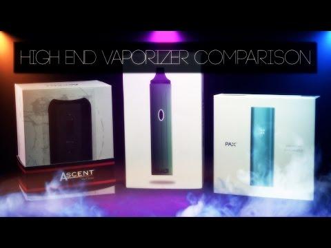 High End Portable Vaporizer Comparison: PAX2/ DaVinci Ascent/ White Rhino Hylo