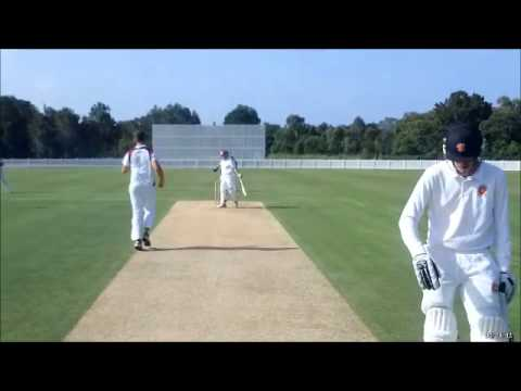 RUNAWAY BAY V BURLEIGH SECOND GRADE CRICKET SEMI FINAL 2014-