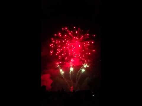 Newton Falls Ohio 2015 fireworks display