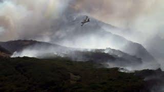 Incendie dans le Sud-Est et en Corse: des moyens supplémentaires pour les pompiers