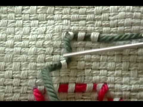 Swedish Weave Part 2b More Stitches Youtube