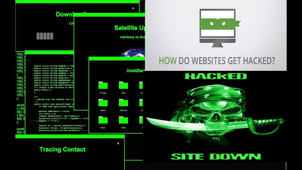 Ethical hacking website| hack web site | website hacked ...