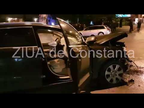 Accident pe strada Mircea cel Bătrân din Constanța (I)