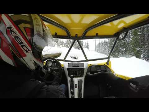 JRR MoTeC YXZ1000R - quick drive in the snow