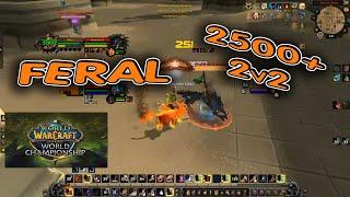 FERAL Druid ARENA 2500+ /  BfA Season 2