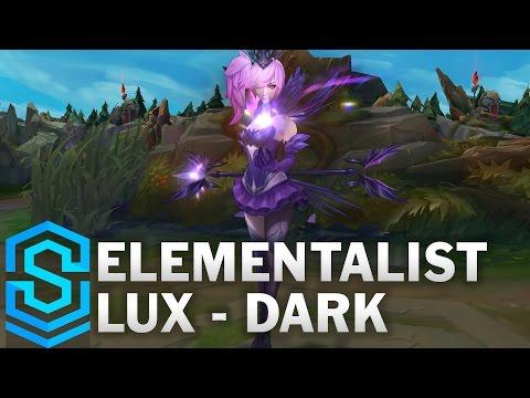 Elementalist Lux (Dark Form) Skin Spotlight - League of Legends