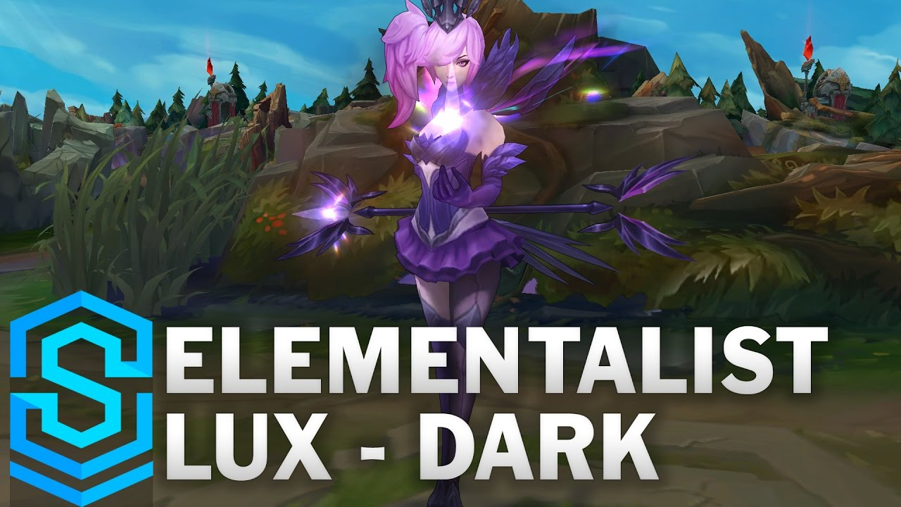Elementalist Lux (Dark Form) Skin Spotlight - League of Legends ...